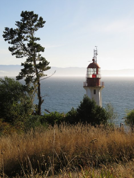 Sheringham Point Lighthouse on Vancouver Island