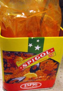 Spigol, a less expensive saffron substitute