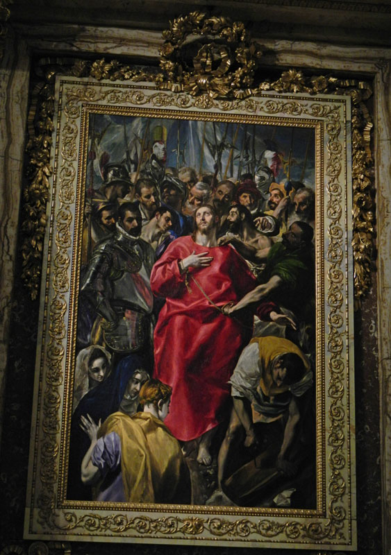 El Greco painting in the Cathedral of Toledo in Toledo, Spain