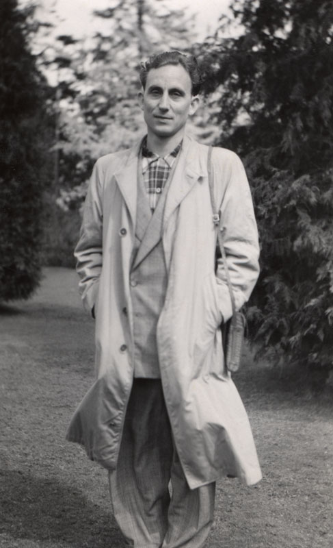 Dad at Stanley Park in Vancouver, c 1953