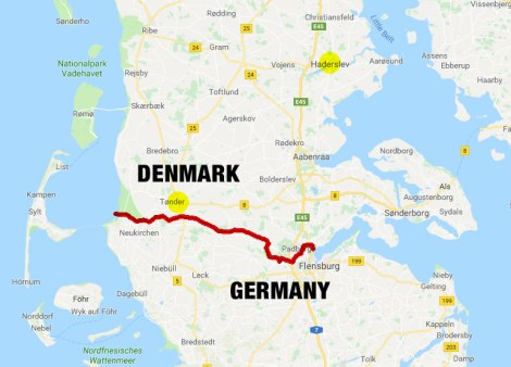 Denmark-Germany Border 1943
