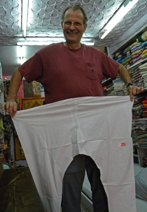 Al went shopping for special 'Holi Pants'