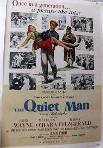 Cong: The John Wayne poster for The Quiet Man