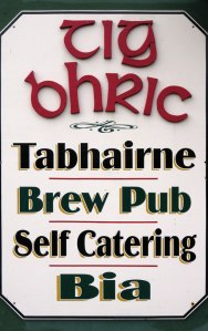 abhairne Brew Pub on the Dingle Peninsula, Ireland