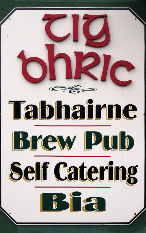 abhairne Brew Pub on the Dingle Peninsula, Ireland