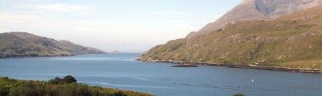 Killary Harbour in Ireland