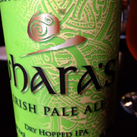O'hara's beer at the Marina Inn in Dingle, Ireland