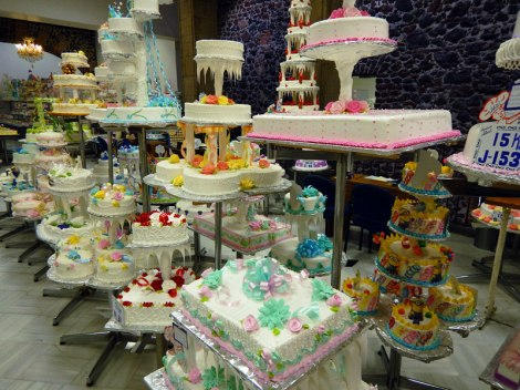 Pastelería Ideal: A Historic Bakery in Mexico City. This is a selection of various party cakes