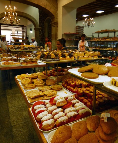 Pastelería Ideal: A Historic Bakery in Mexico City, showing off a variety of pastries