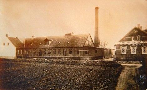 Produits laitiers à Langeland, au Danemark, où mon père a vécu de 1921 à 1929