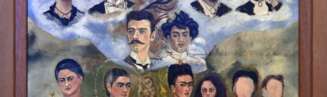 Frida Kahlo's family portrait (unfinished)