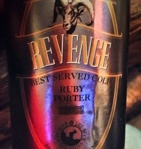 A Beer called Revenge (best served cold) in Kilkenny, Ireland