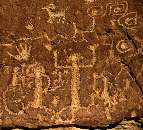 hike along the Petroglyph Trail at Mesa Verde National Park in Colorado