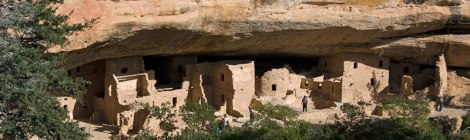 Colorado's Mesa Verde National Park: Spruce House from above