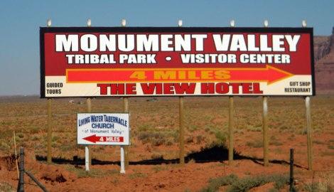 Monument Valley Billboard