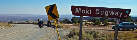 Moki Dugway Hwy 261 in Utah
