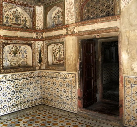 Baby Taj, a Mughal structure built completely from marble