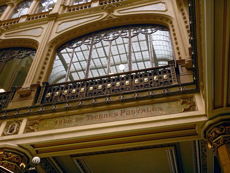 The Arte Nouveau Palacio Postal in Mexico City