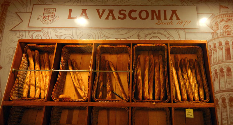 La Vasconia Bakery, my favourite place for breakfast among other meals in Mexico City