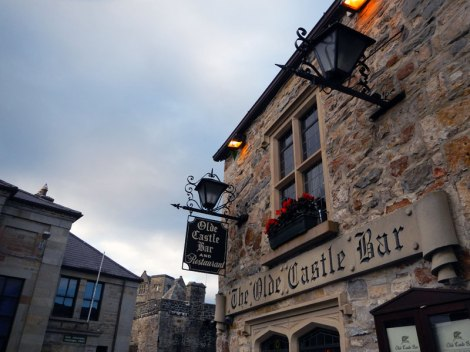 Olde Castle Bar in Donegal, Ireland
