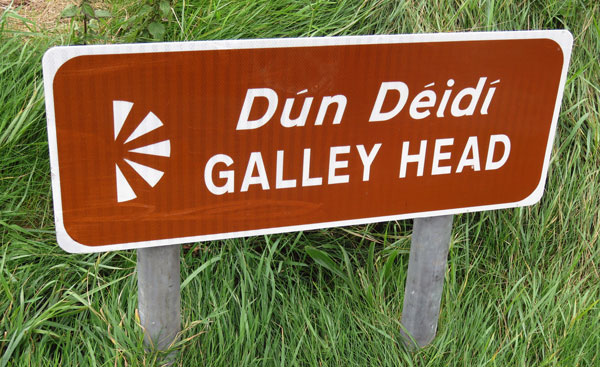 Galley Head sign