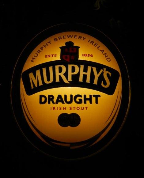 In Sneem, a Murphy's Draught Tap