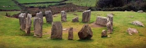 Cercle de pierres de Drombeg en Irlande