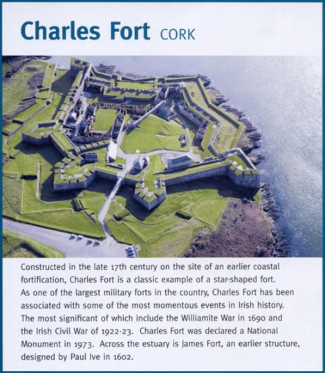 Brochure Charles Fort avec description