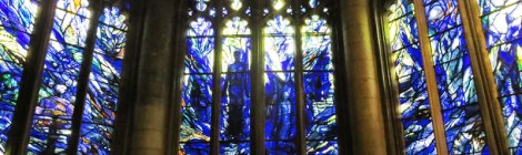 Gloucester Cathedral Stained Glass Windows