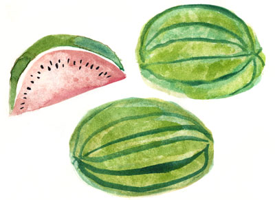 watermelon or sandia