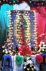 Virgen de Guadalupe in Marquelia, Mexico