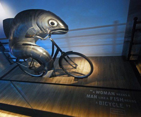 Guinness Advertising:A Woman needs a Man like a Fish Needs a Bicycle