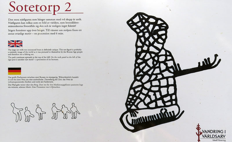 Notes on the Tanum petroglyph of a net