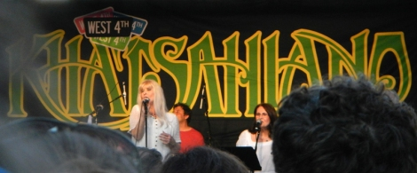 What remains of the Poppy Family playing at Khatsalano in 2014