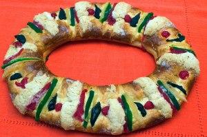 Dia de los Reyes Pan llamaba Rosca de Reyes