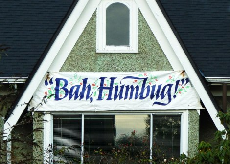 """Bah, Humbug!"""