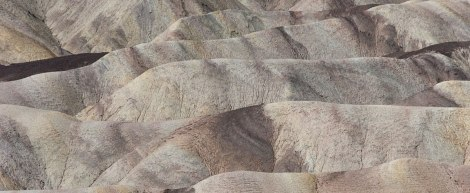 pale hills at Zabriskie Point in Death Valley, who would think that badlands could look so good?